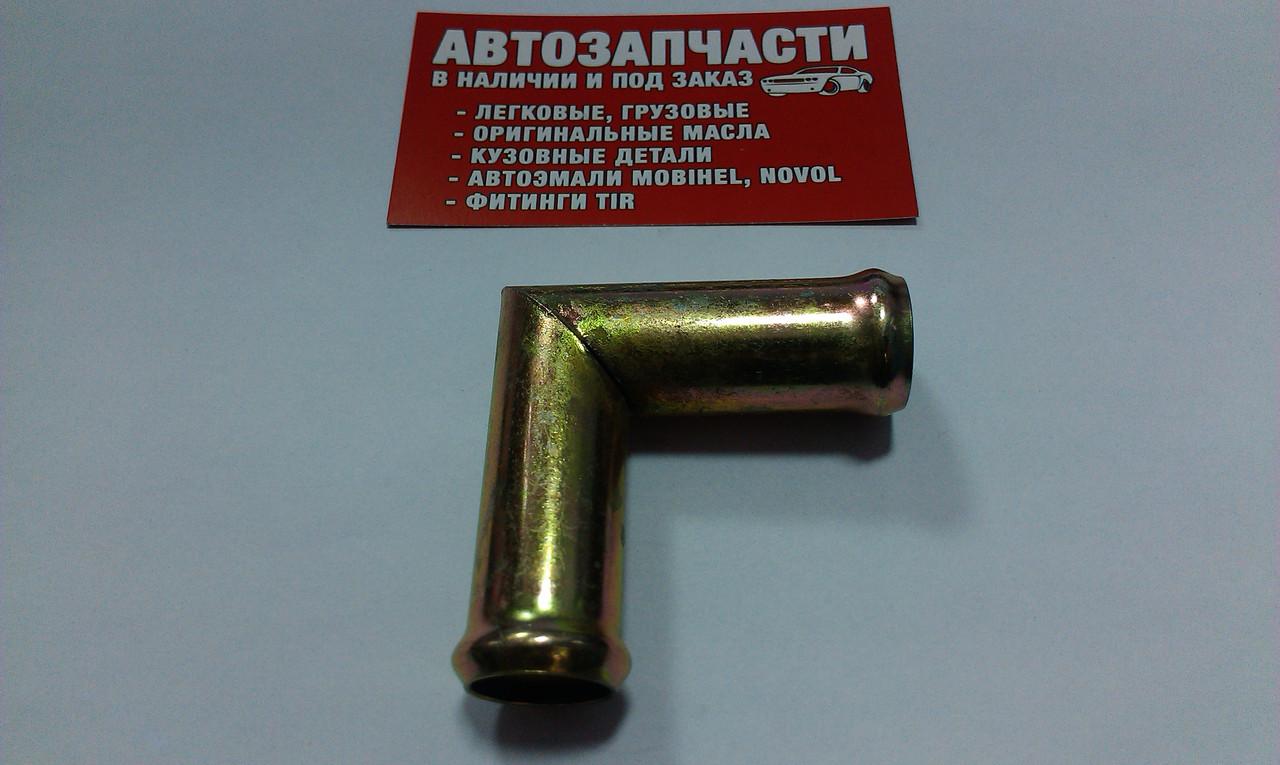 Угольник под шланг Д=20 стальной
