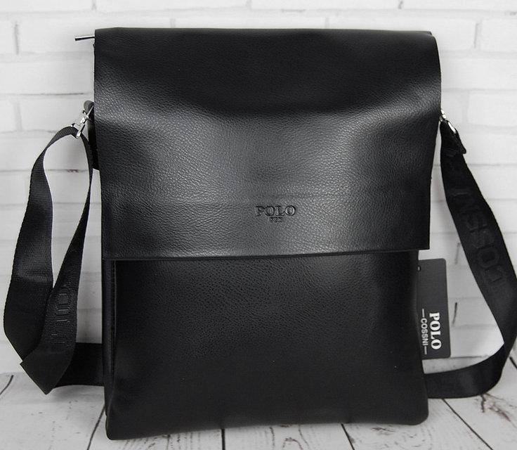 Мужская сумка Polo под формат А4. Сумка Polo. Стильные мужские сумки. Качественная сумка формат А4.