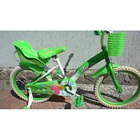 Детский двухколесный велосипед Барби Azimut  18 дюймов