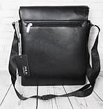 Мужская сумка Polo под формат А4. Сумка Polo. Стильные мужские сумки. Качественная сумка формат А4., фото 4