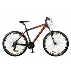 """Велосипед Leon 26"""" HT-85 2017AM 14G Vbr рама-20"""" Al черно-красный (OPS-LN-26-013)"""