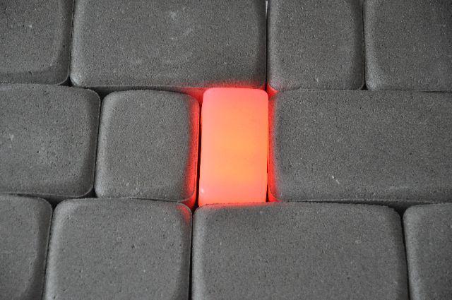 Светильник тротуарный RGB 7х9х5