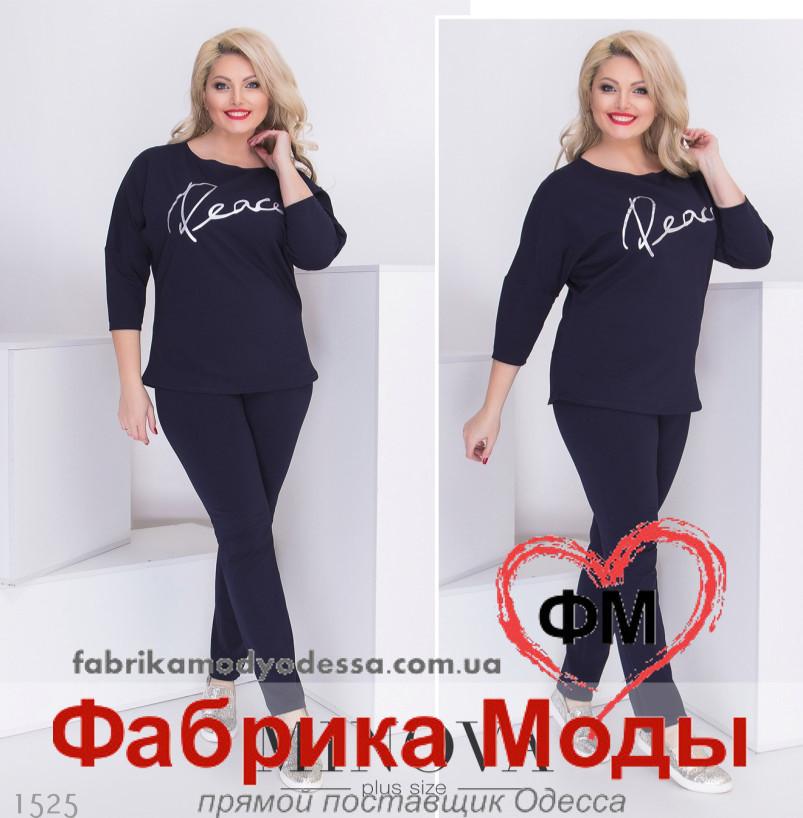 308682ab2b76 Прогулочный весенний костюм большого размера от Minova р. 50,52,54 ...