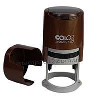 Оснастка Colop R40 для печати автомат цвет бронза