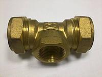"""Тройник Gofraflex BIT15 """"труба-внутр.резьба-труба"""", фото 2"""
