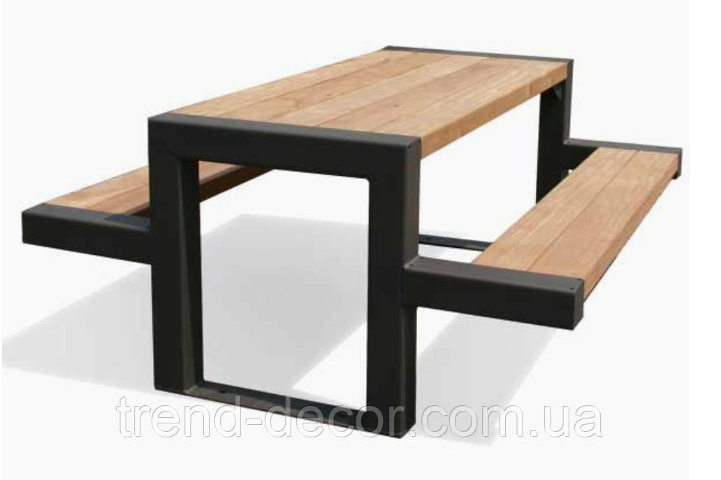Стол для пикника.  - TREND DECOR лидирующий производитель оборудования для благоустройства общественных территорий города в Ивано-Франковской области