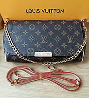 Клатч копия Louis Vuitton Favorite классика, фото 1