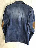 Пиджак джинсовый для мальчика на 146см, фото 3
