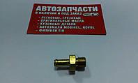 Штуцер резьбовой М10х1 под шланг Д=6