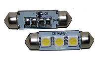 LED лампа C5W CANBUS 36мм 3 SMD5050 12V