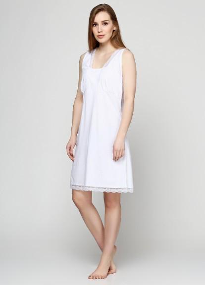 Женская ночная сорочка с кружевом