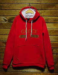 Худи Gucci красного цвета реплика