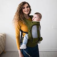 Эрго рюкзак Love & Carry AIR — Олива