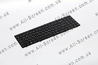 Оригинальная клавиатура для ноутбука LENOVO 100-15IBY, 300-15, B50-10, Black, RU, черная рамка