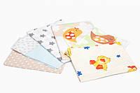 Пеленки для новорожденных Twins фланелевая 110х90 /3 шт/ multi