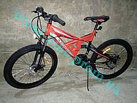 Подростковый горный велосипед 24 дюйма Azimut Shock