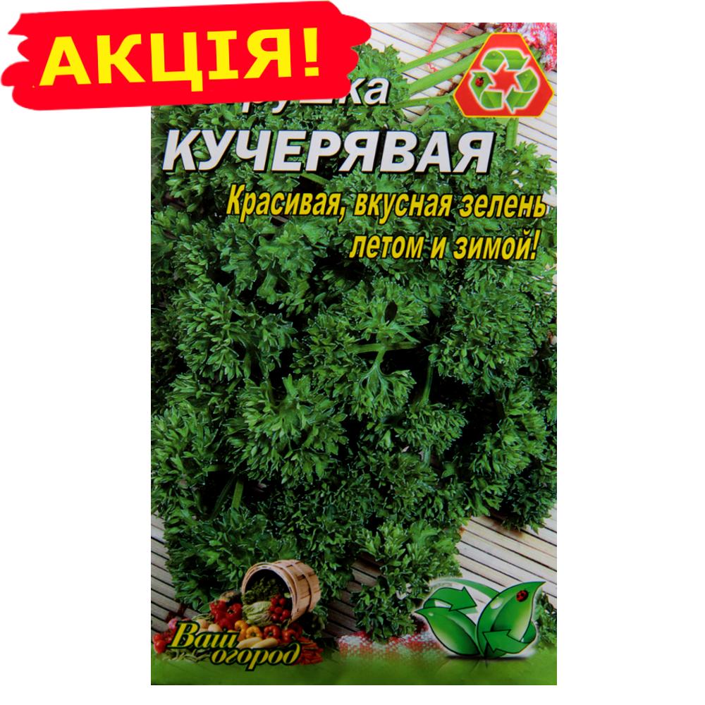 Петрушка Кучерявая большой пакет 10 г