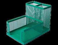 Прибор настольный BUROMAX металлический зеленый