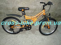Подростковый  велосипед Азимут  BLACKMOUNT  20 дюймов