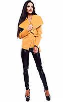 M (44-46) / Женское кашемировое пальто Porter, горчица