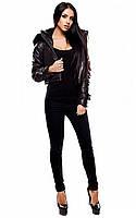 M (46) / Женская короткая куртка Cardo, черный