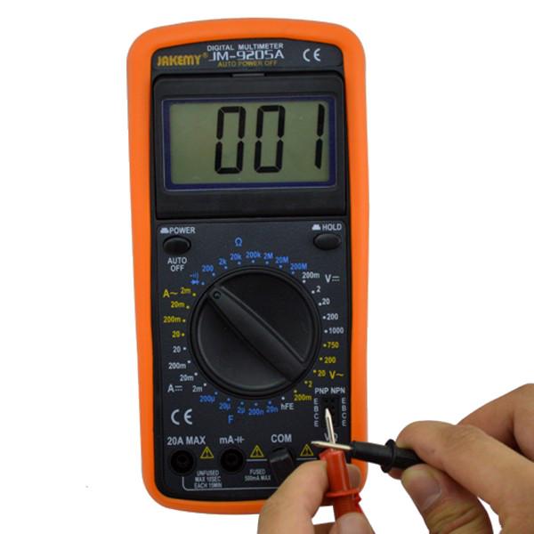 Jakemy JM-9205a цифровой мультиметр электрический измерительный прибор цифровой измеритель - ➊TopShop ➠ Товары из Китая с бесплатной доставкой в Украину! в Днепре