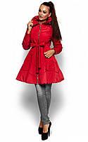 M (46) / Женская приталенная куртка Suzan, бордо