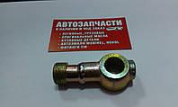 Штуцер топливный кольцевой Д=16 под резьбу М20