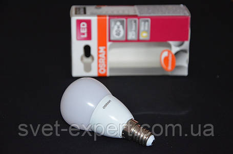 Лампа OSRAM SUPERSTAR CLP40AD 6W /827 220-240V Е14 , диммируемая, теплый белый, матовая колба, фото 2