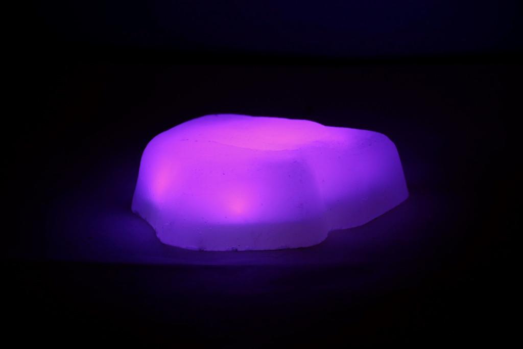 Светодиодный камень RGB 8.5х8.5х3