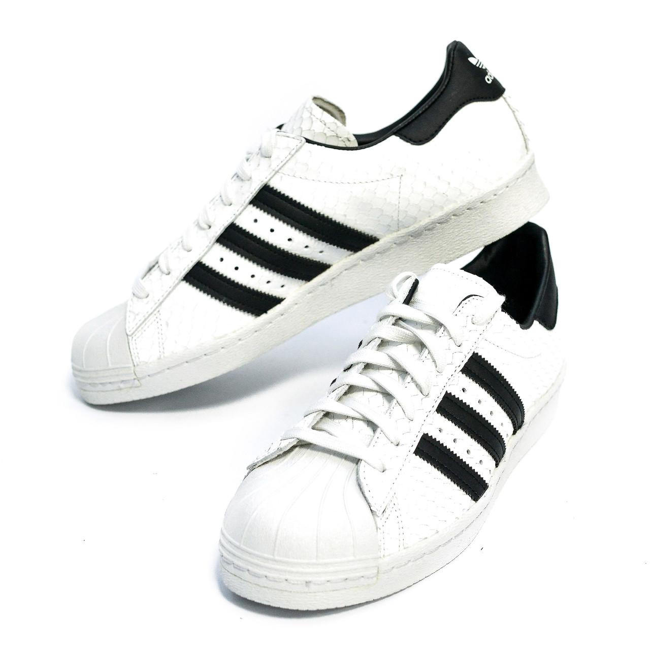 Оригинальные мужские кроссовки Adidas Superstar 80s