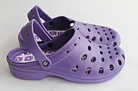 Сабо женское летние фиолет (36-41) Прогресс, фото 1