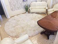 "Ковер из овчины ""круг"", размер 200х200"