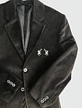 Пиджак для мальчика, подростковая одежда  140см, фото 2