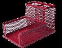 Прибор настольный BUROMAX металлический красный