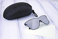 Солнцезащитные женские очки  маска Dior реплика с футляром