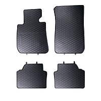 Килими гумові для автомобіля BMWSeria 3 E90-91-92-93 (2004 – 2012)колір чорний