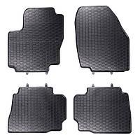 Килими гумові для автомобіля FORD MONDEO IV (2007 - ….)колір чорний