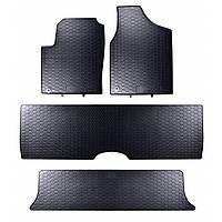 Килими гумові для автомобіля FORD GALAXY I / II 7 per. (1995 – 2006)колір чорний