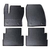 Килими гумові для автомобіля FORD KUGA II (2012 - ….)колір чорний