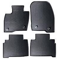 Килими гумові для автомобіля FORD S-MAX II (2015 - ….) колір чорний