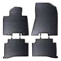 Килими гумові для автомобіля HYUNDAI TUCSON III (2015 - ….) колір чорний