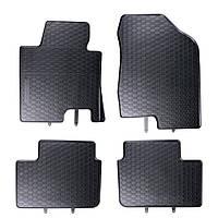 Килими гумові для автомобіля KIA CEED II (2012 - ….)колір чорний