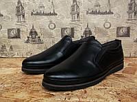 Туфли мужские Detta 739 модель с натуральной кожи стильные, фото 1