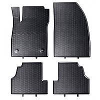 Килими гумові для автомобіля OPEL MOKKA (2012 - ….)колір чорний