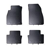 Килими гумові для автомобіля OPEL INSIGNIA (2008 - ….)колір чорний