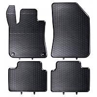 Килими гумові для автомобіля PEUGEOT 308 II HATCHBACK (2013 - ….)колір чорний