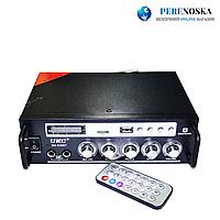 Усилитель звука UKC SN-838 BT USB+SD+AUX+Bluetooth+Караоке