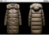 Женское пуховое пальто  MiSun G702В-91