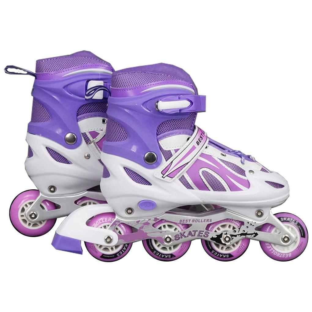 """Детские Ролики Best Rollers, 2000 размер """"S""""30-33 Фиолетовый 56193"""